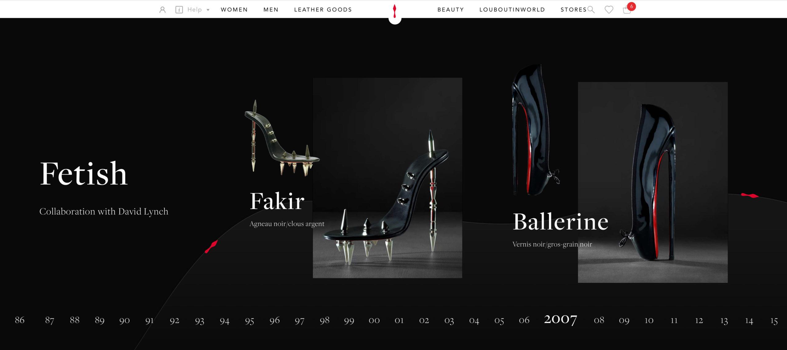 Shoe Timeline 3